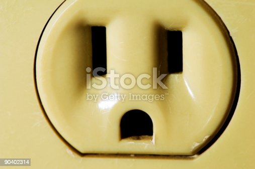 istock Electrical Outlet 90402314