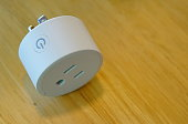 istock Electrical Outlet plug Smart Wi-Fi 1269899724