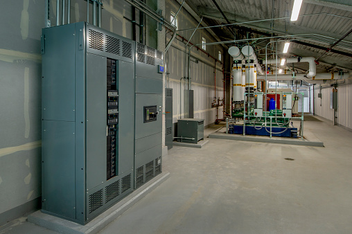 Electrical Panel and Boilers