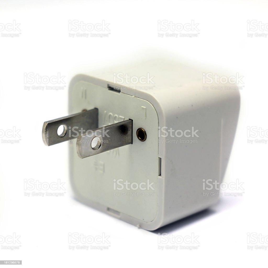 electrical plug royalty-free stock photo