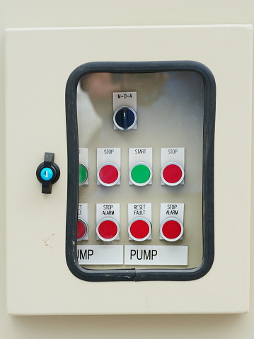 Electrical power control switch