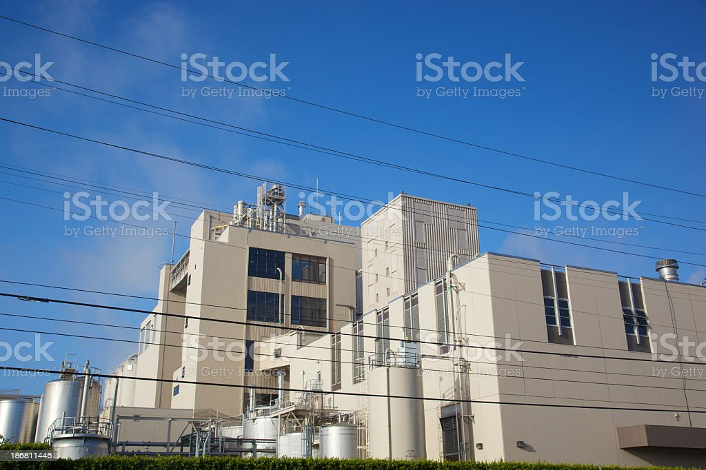 Electrical Power for Manufatcuring Factory royalty-free stock photo