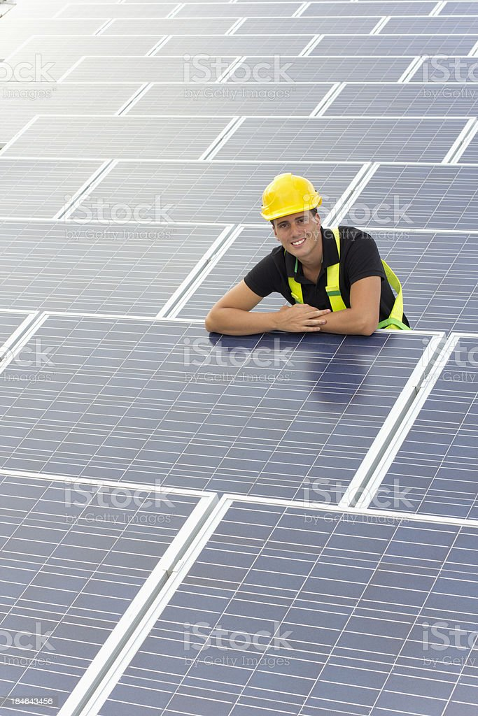 Electrical professional royalty-free stock photo