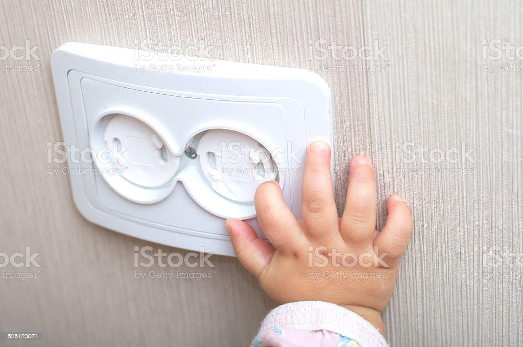 Elektrische Zuverlässigkeit des ac Steckdose in home – Foto