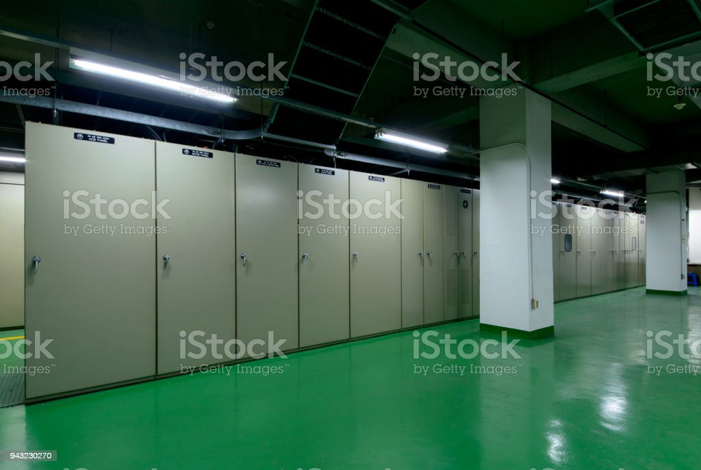 Electrical Room Switchgear Switch Panel Stock Photo & More Pictures ...