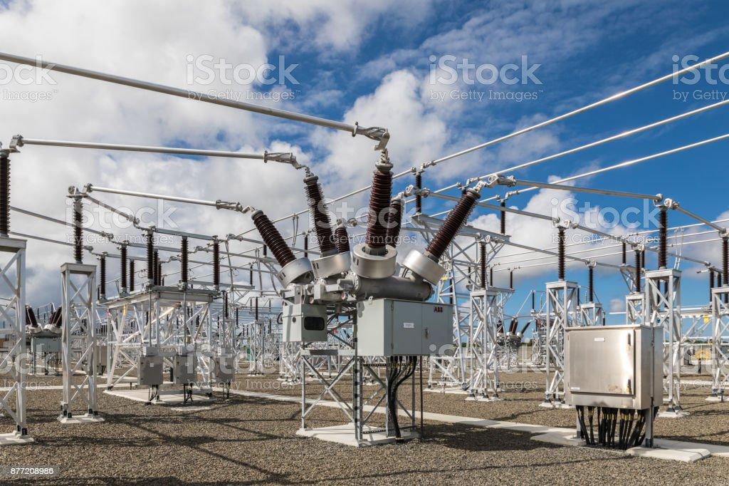 High-Voltage (HV) Electrical Substation 110/34.5 kV - CR