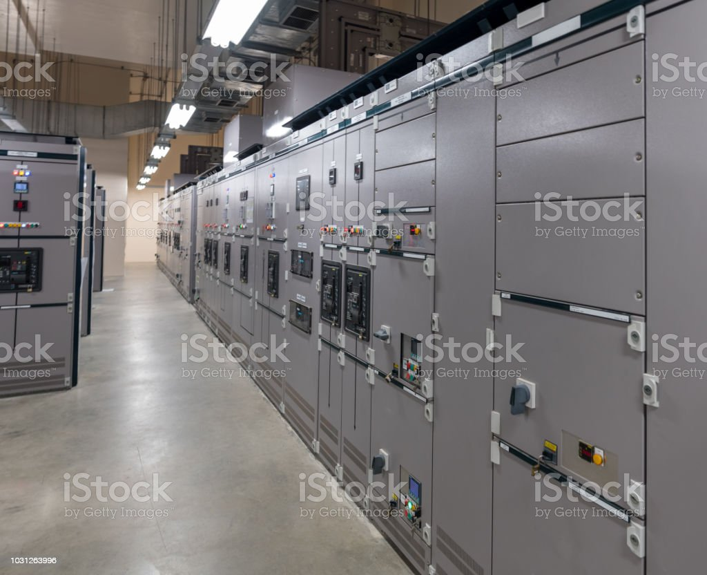 Electrical Switch Panel Of Switchgear Room At Power Plant Stock What Is A Royalty Free Photo