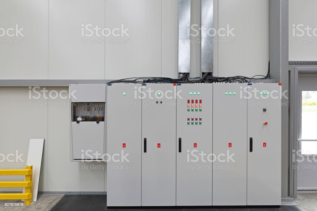 Electrical Switchboard stock photo