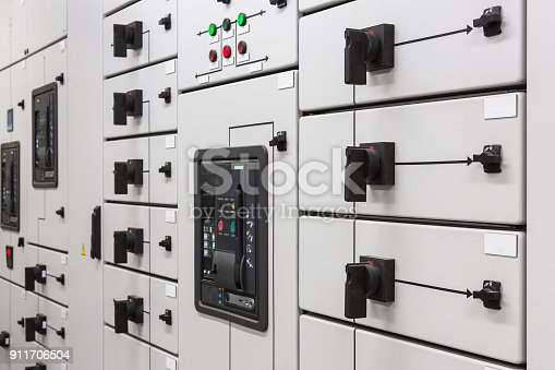 Electrical switchgear in a high-power biofuel boiler house