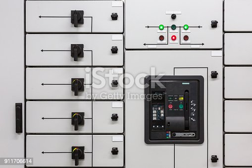 istock Electrical switchgear 911706614