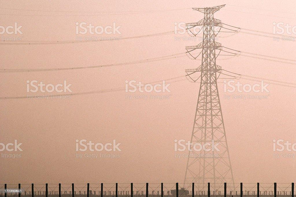 Eléctrico tower. foto de stock libre de derechos