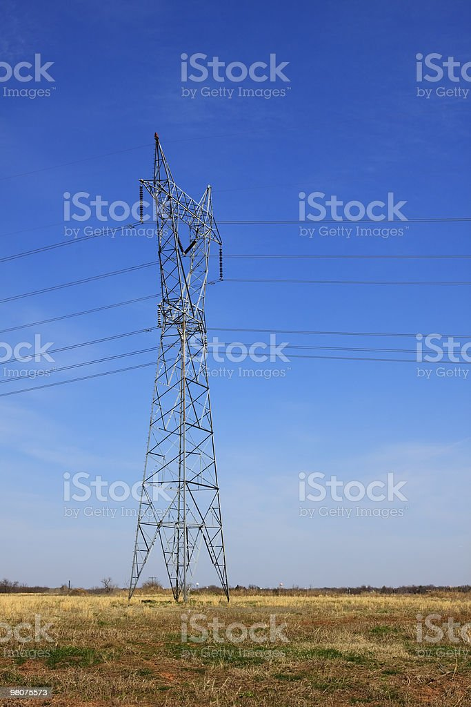 Torre elettrici XL foto stock royalty-free