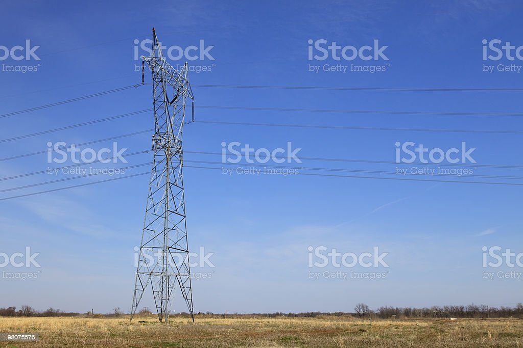 Electrical Tower XL royalty-free stock photo