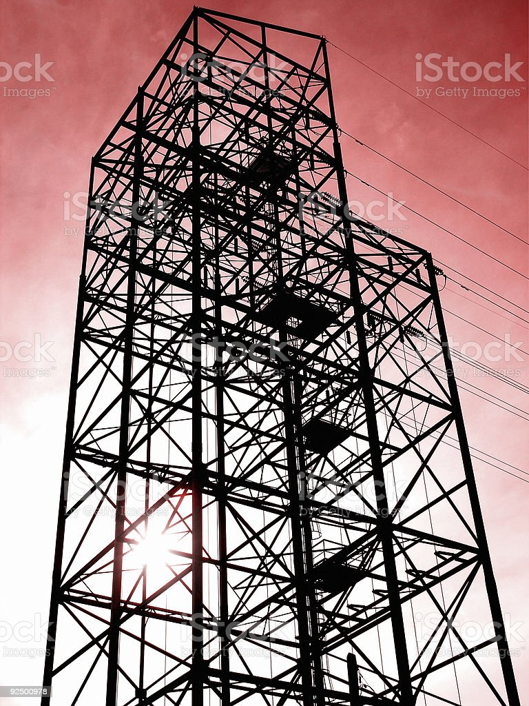 Electrical Utility royalty-free stock photo