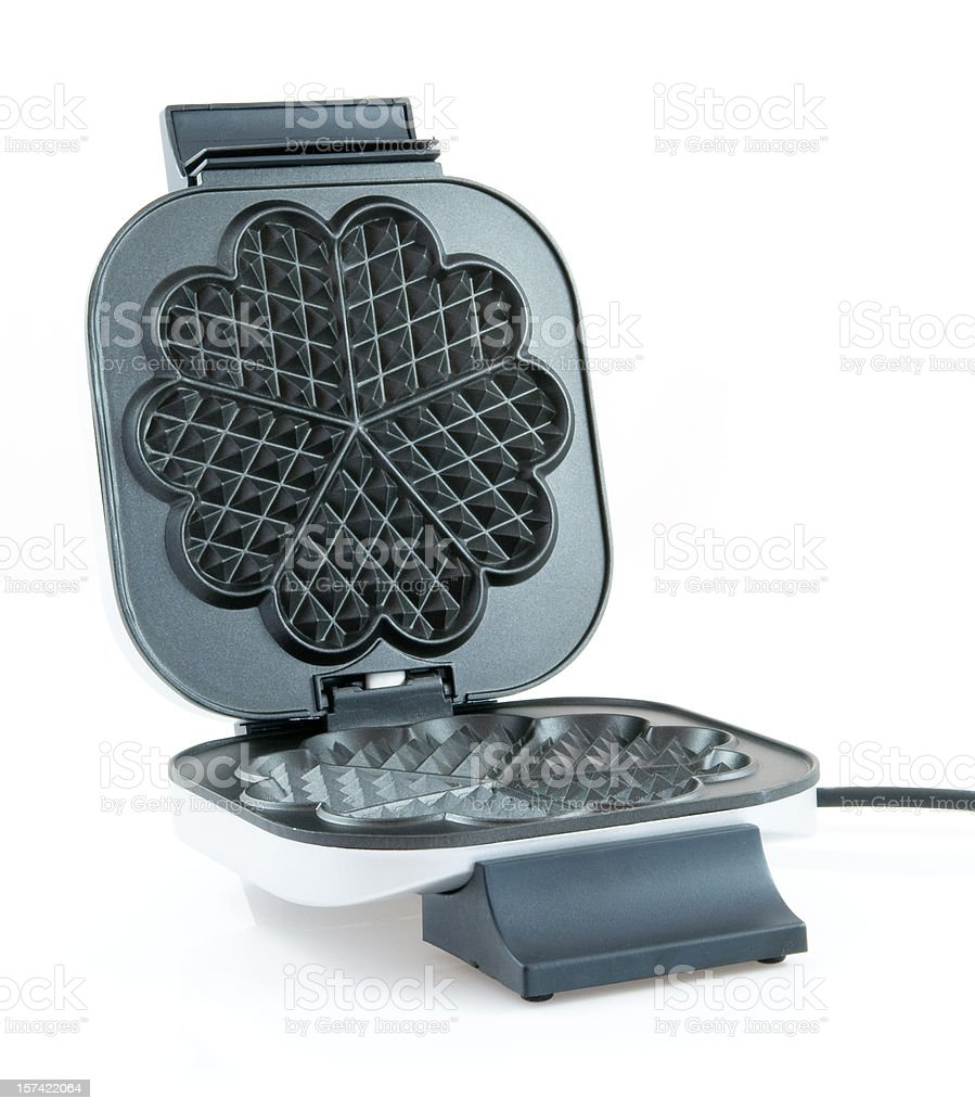Electrical waffles iron stock photo