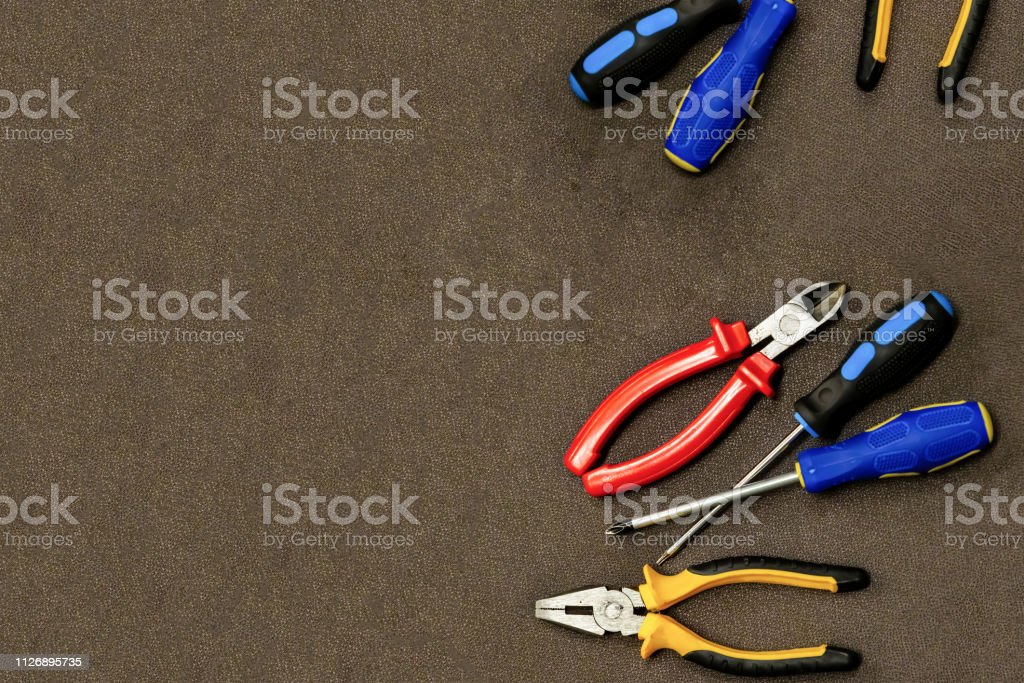 Electrical Wiring Repair Set Desired Tool Design Art ... on