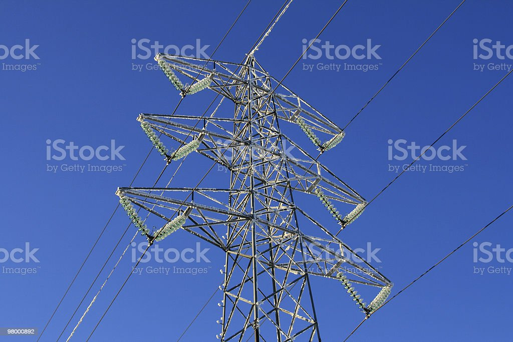 Electrically mast royalty free stockfoto