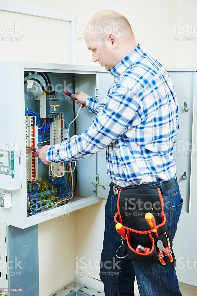 Electric Meter And Fuse Box