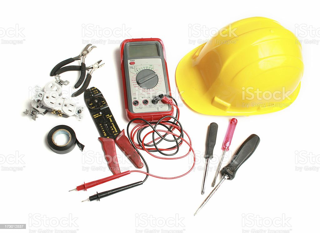 electricians stuff royalty-free stock photo
