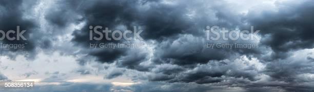 Photo of Electricity cloud panaroma