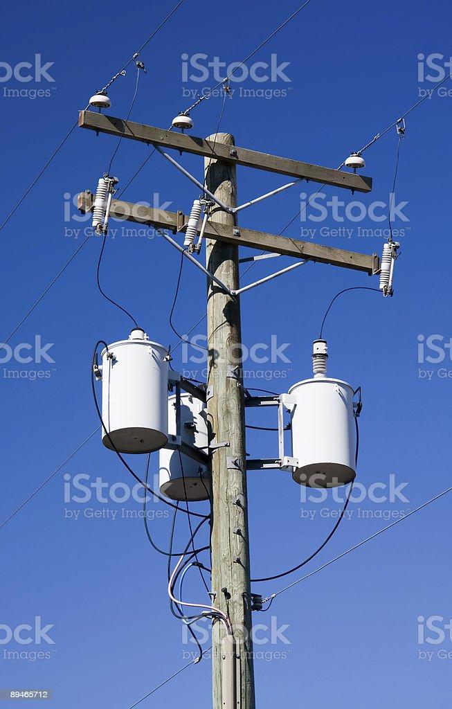 Electricity Distribution stock photo