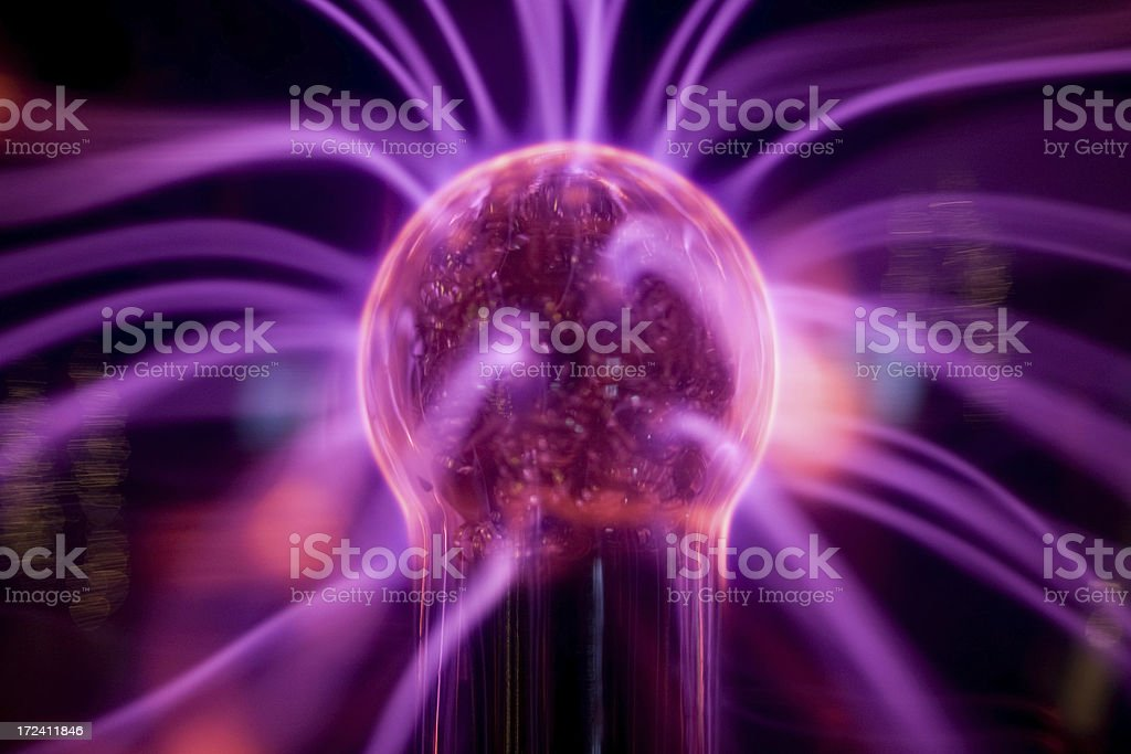 Electricity: Flow and Dance royalty-free stock photo