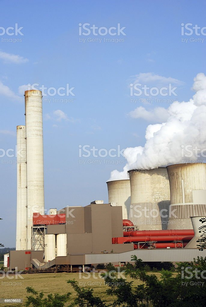 Electricity power station royalty-free stock photo