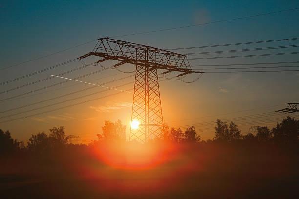 Electricity pylon – Foto