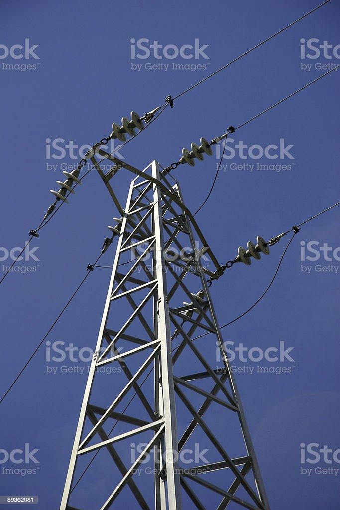 Electricity Pylon royaltyfri bildbanksbilder