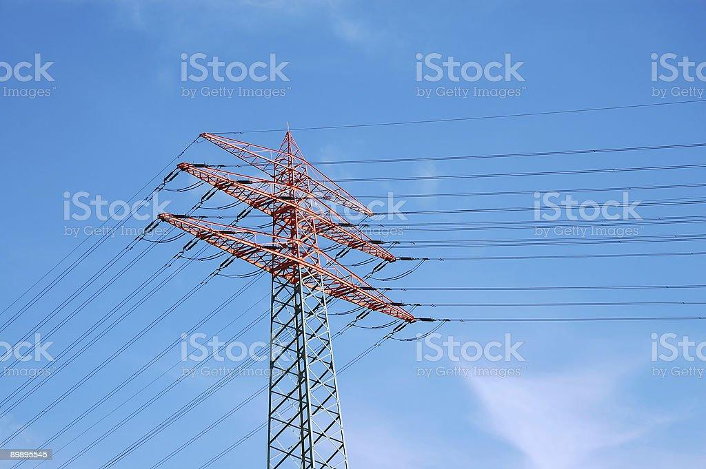 electricity pylon Lizenzfreies stock-foto