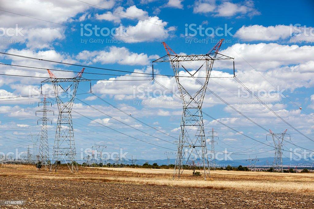 Strommasten – Foto