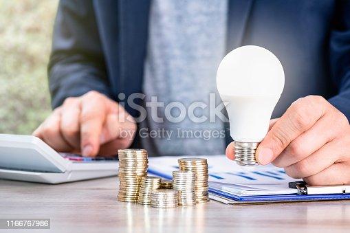 Electricity, Savings, Energy Efficient, Light Bulb, Calculator