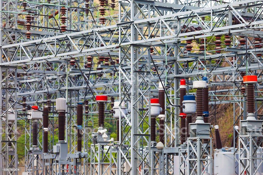 Electricity Station stock photo