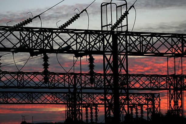 電力サブステーション - 各国の観光地 ストックフォトと画像