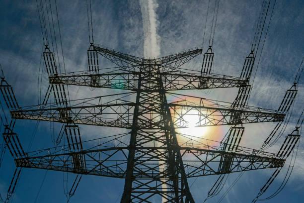 Stromübertragungsleitungen – Foto