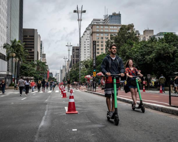Elektro-Roller mieten in Sao Paulo, Brasilien – Foto