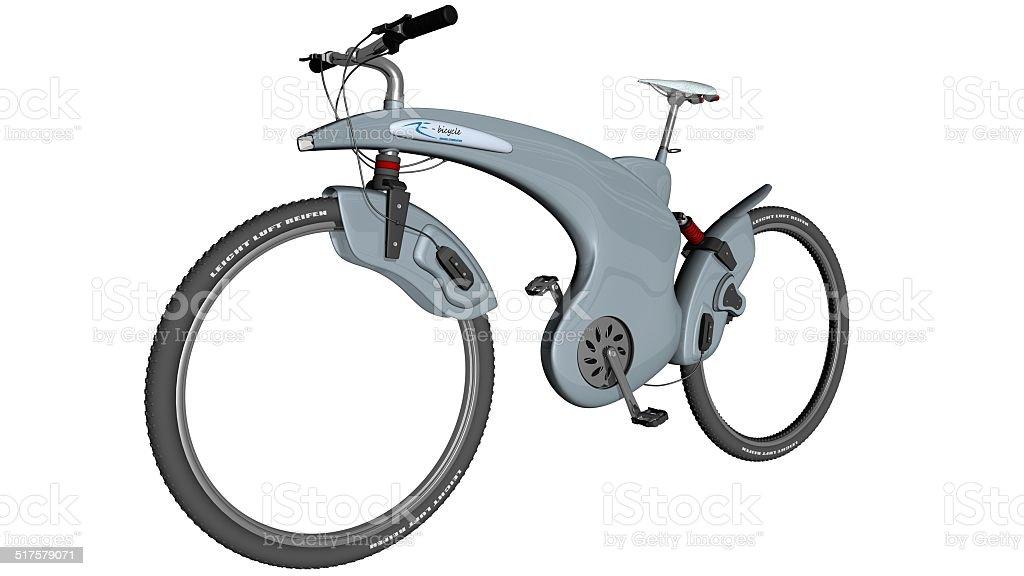 Electro Fahrrad - Lizenzfrei Eleganz Stock-Foto