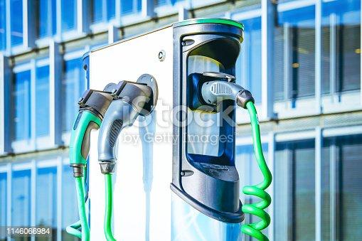 istock Electro charging station 1146066984