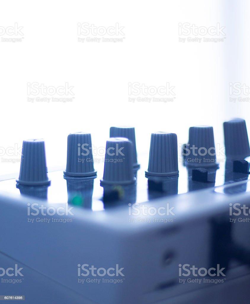 Electroacupunture acupunture machine stock photo