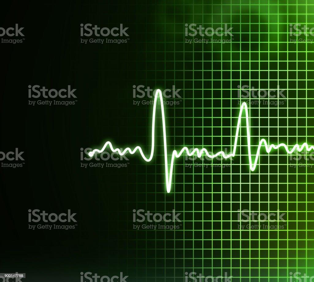 Electrocardiogram background stock photo