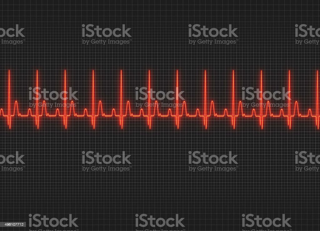 Electrocardiography stock photo