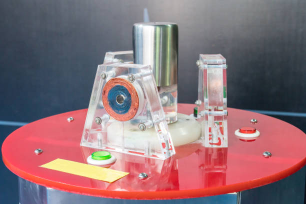 Electrochemistry machine. Science and educational concept Electrochemistry machine. Science and educational concept anode stock pictures, royalty-free photos & images