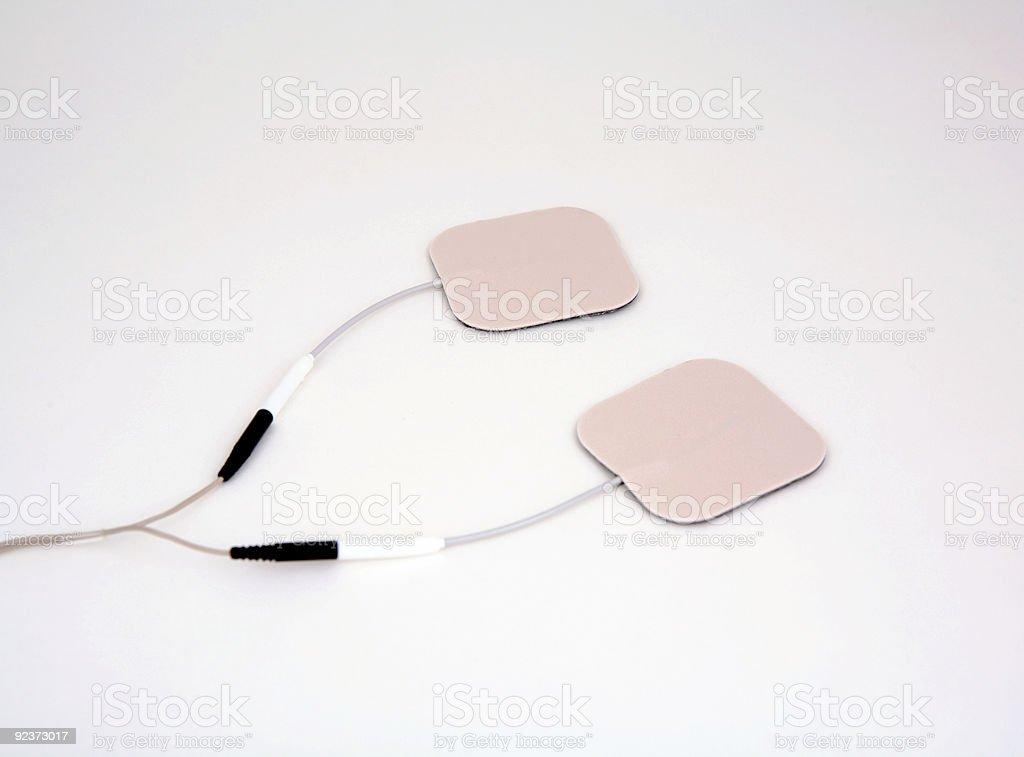 Electrodes royalty-free stock photo