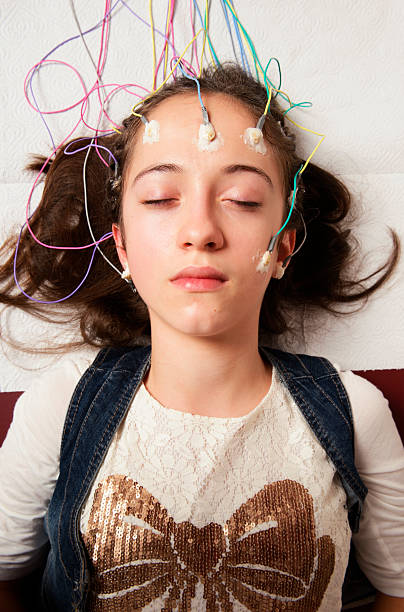 Electroencephalography stock photo