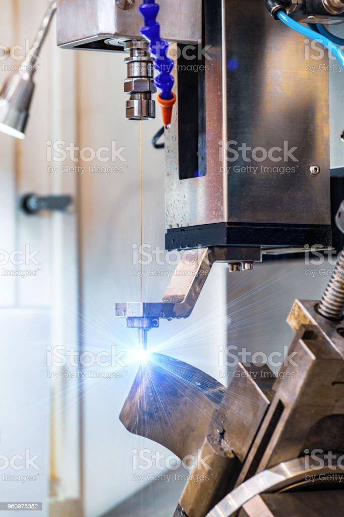 Electroerosive drilling machine royalty-free stock photo