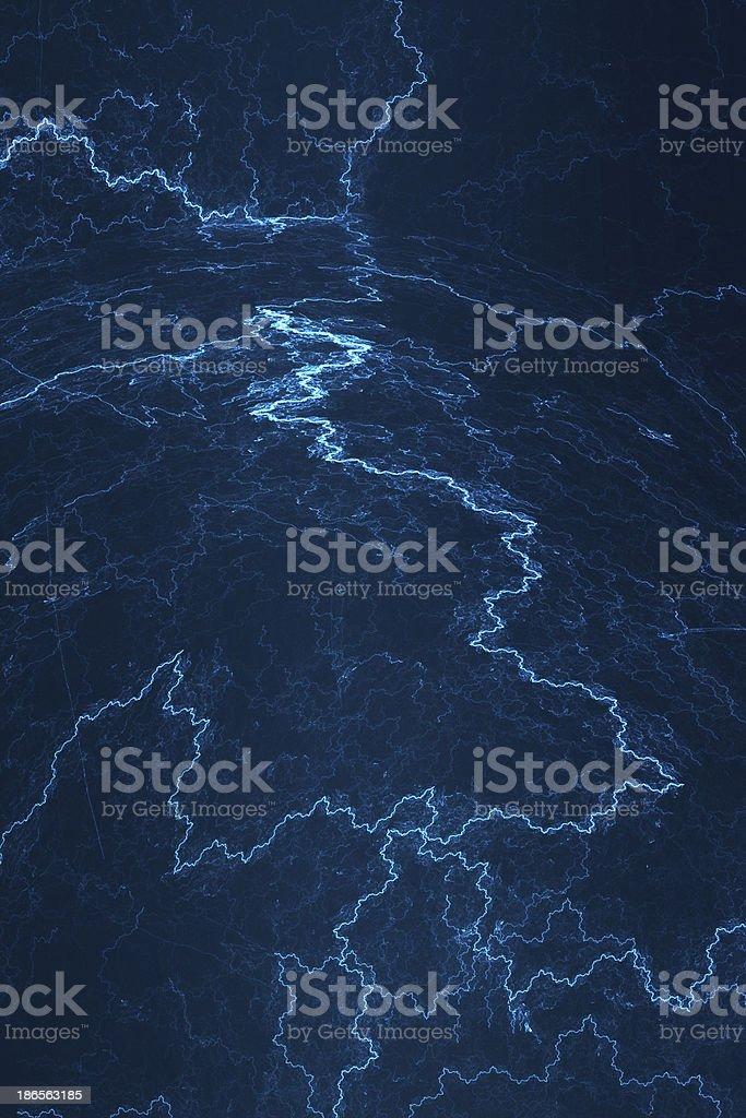 Electromagnético fondo abstracto-electricidad - foto de stock