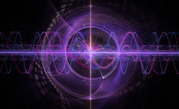 電磁波的空間 - 聲波 個照片及圖片檔