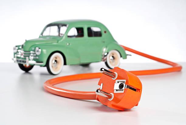 Electromobile stock photo