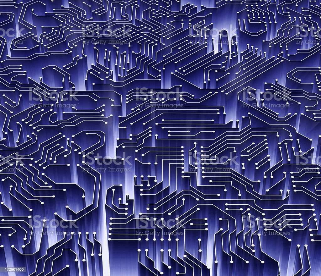 Electronic Abstract XXL royalty-free stock photo