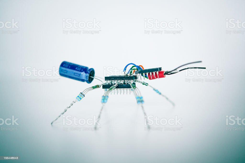 Electronic Ant stock photo